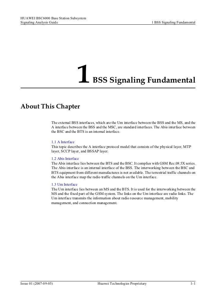 01 01 bss signaling fundamental