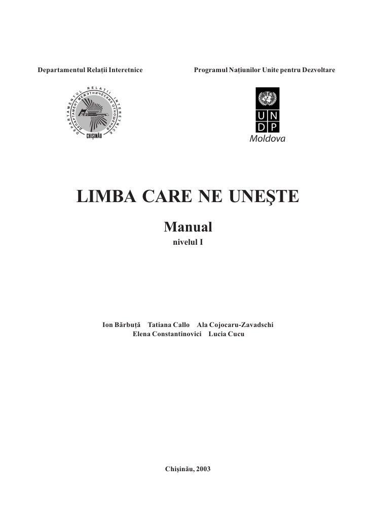 LECÞIA 1 EU SUNT DIN MOLDOVA                                      1   Departamentul Relaţii Interetnice            Program...