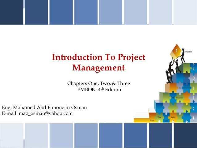 01 02&03 introduction to pmp-mao