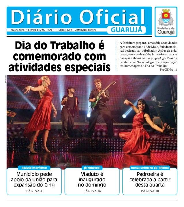 Diário Oficial 01/05/2013