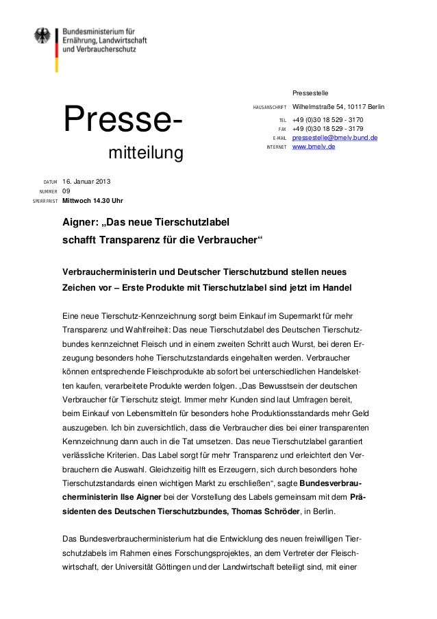 Pressestelle                                                                    HAUSANSCHRIFT   Wilhelmstraße 54, 10117 Be...