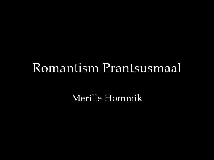 01.1.romantism prantsusmaal