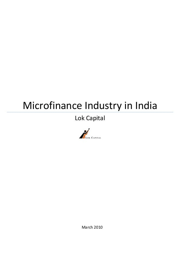 Microfinance Industry in India                Lok Capital                 ...
