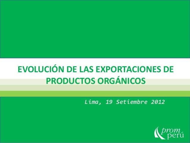 ADEX - convencion organicos 1