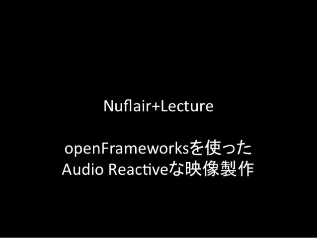 Nuflair+Lecture