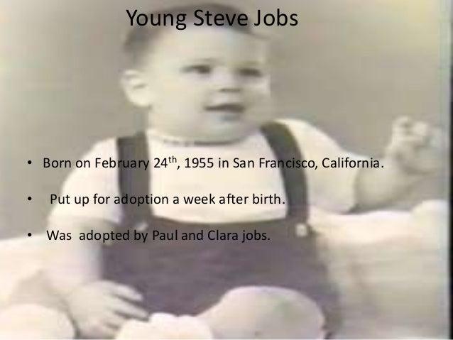 Steve jobs biography essay
