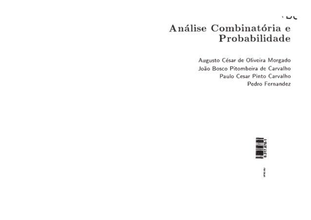 01. livro análise combinatória e probabilidade