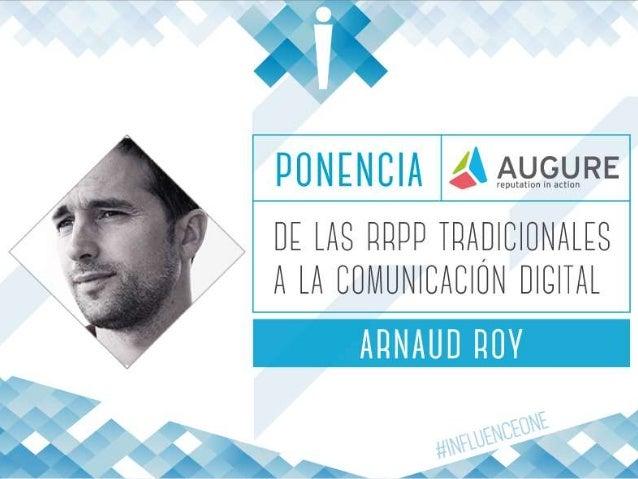 www.augure.com | Blog. blog.augure.com | : @augureFR Influence One 2015 Let's kick it off! 24 marzo de 2015