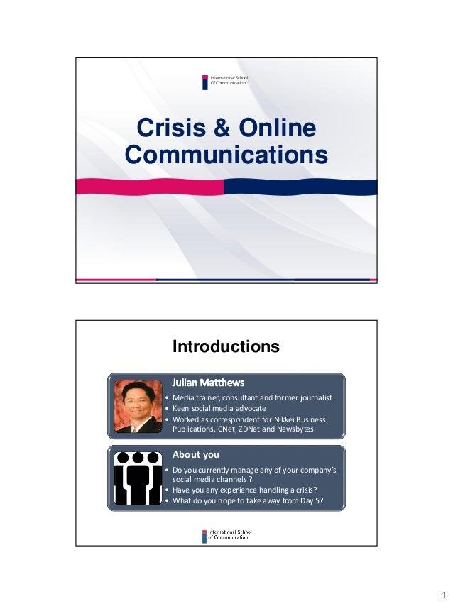 crisis online