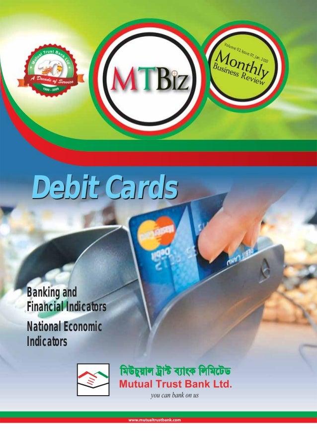 Volu  me:  Debit Cards  Banking and Financial Indicators National Economic Indicators  02, I  ssue  : 07,  Jan.  201  0