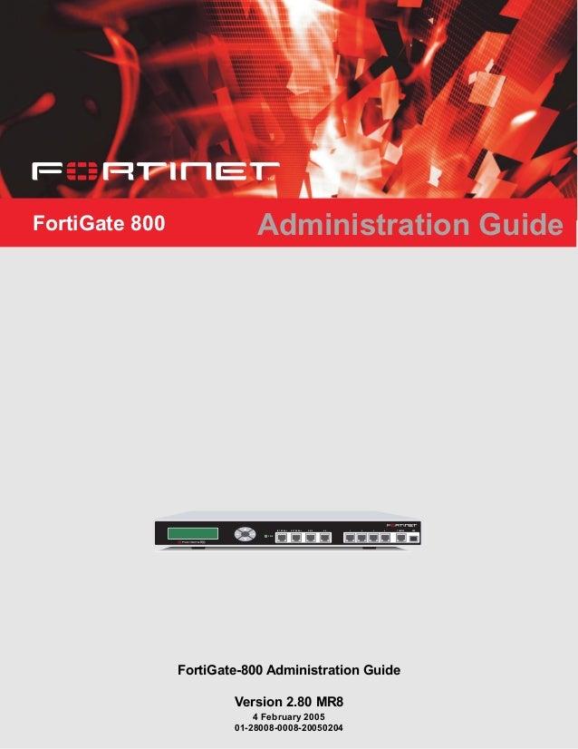 FortiGate 800 Administration GuideEsc EnterCONSOLEI N T E R N A L E X T E R N A L D M Z HA 1 2 3 4 USB8P W RFortiGate-800 ...
