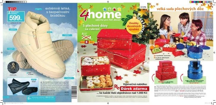 4home.cz Vánoční katalog