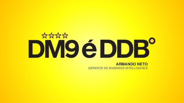 ARMANDO NETO GERENTE DE BUSINESS INTELLIGENCE