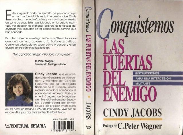 Conquistemos las puertas del Enemigo-Cindy Jacobs