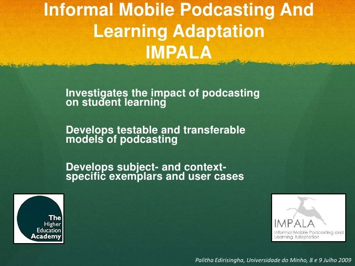 adaptation of mobile learning in higher Thesis discusses the possibilities mobile learning offers to the field of education  and the type of actions that must be taken in order to support the adoption of m- learning  high speed access to the web is constantly available through  mobile.