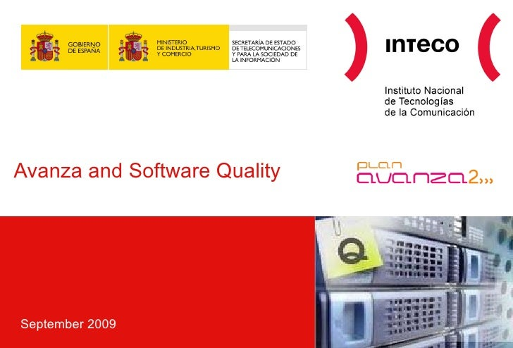 Avanza and Software Quality September 2009