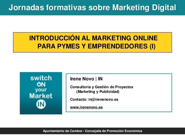 Introducción al marketing online para pymes