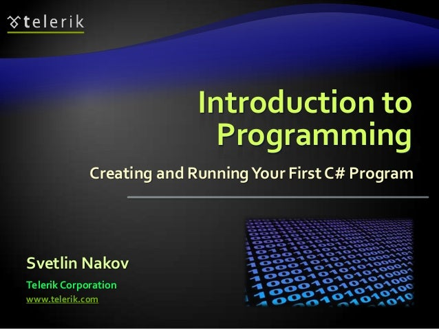 01. introduction to-programming