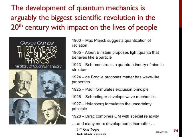 the development of quantum mechanics The best small grow light 2018 - par output, spectrum and cost comparison - duration: 12:00 migro 32,930 views.