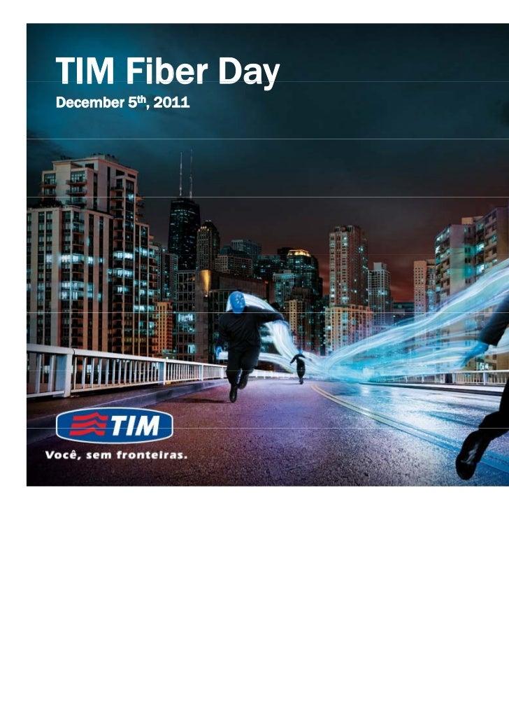 TIM FIber Day Presentation