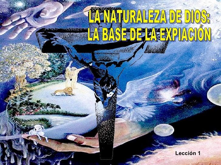 01 Naturaleza de Dios SEF