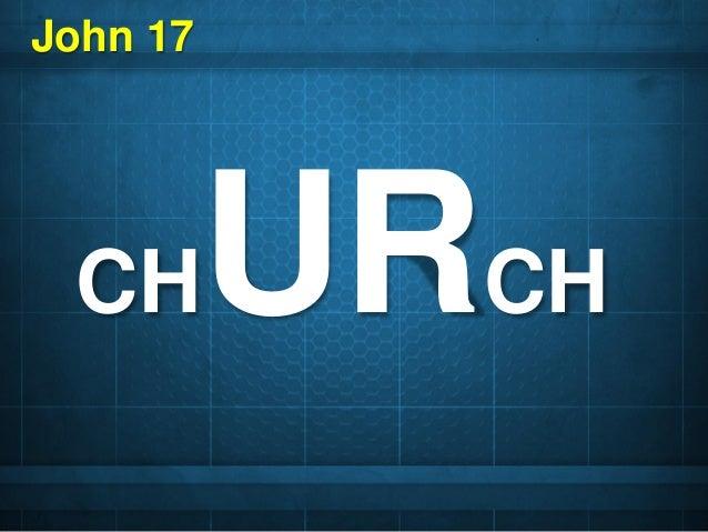 CHURCH John 17