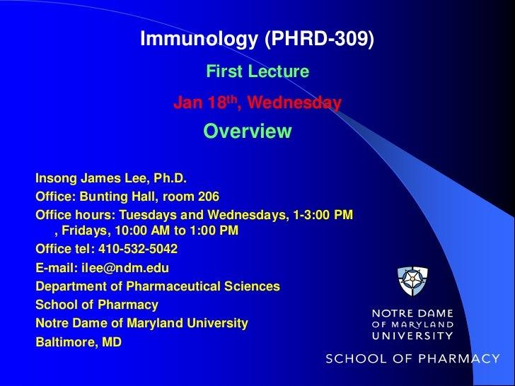 01 phrd 309-immunology-first_class-1-18-12