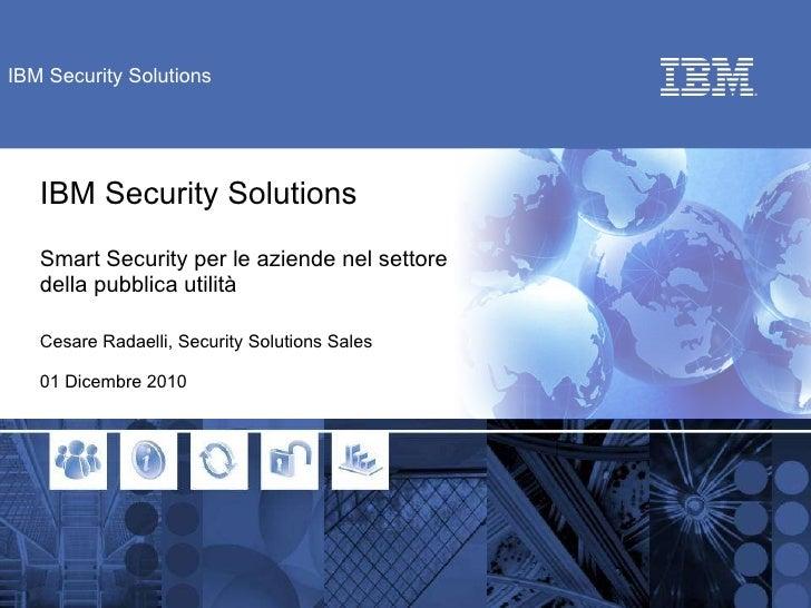 01 smart security per le aziende nel settore della pubblica utilità