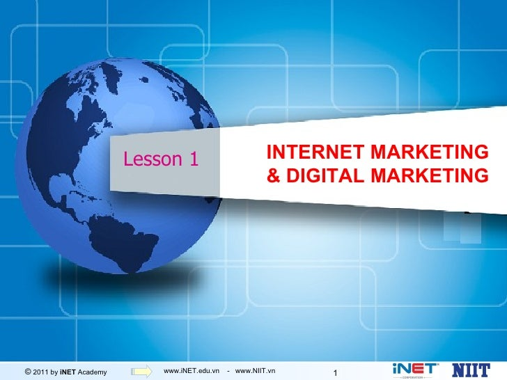 Tong quan Internet Marketing, iNET 2011