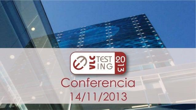 Conferencia 14/11/2013
