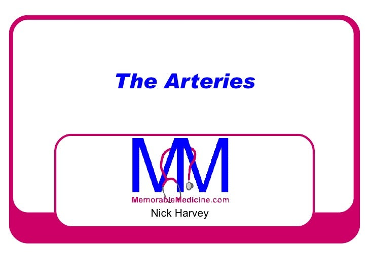 010 Arteries - Introduction to Clinical Surgery Lectures