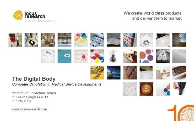 The Digital Body
