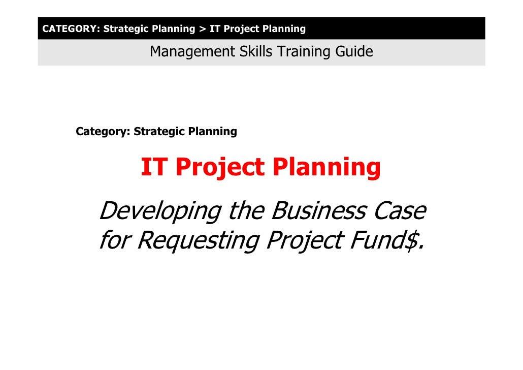 0100 01 It Prj Planning Webinar