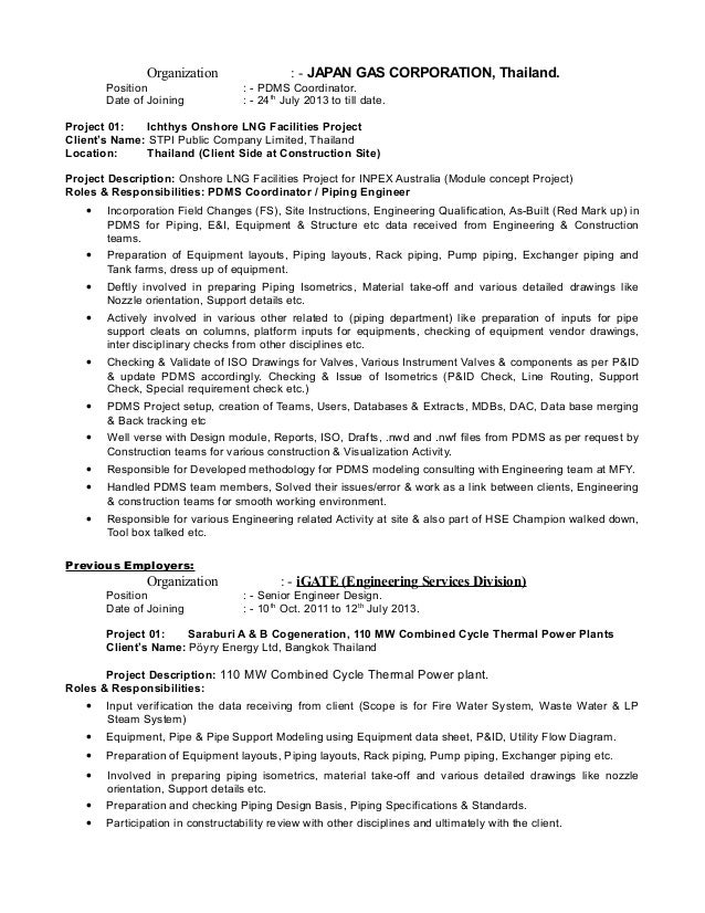 civil engineer resume full by clicking build your own you agree to    resume of jitendra shende for the post of piping engineer    piping engineer resume