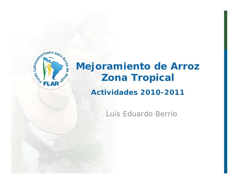 011   fitomejoramiento tropical flar 2011 - l berrio