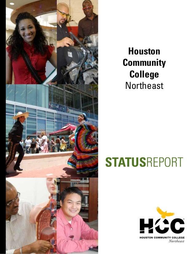 Houston Community College Northeast STATUSREPORT