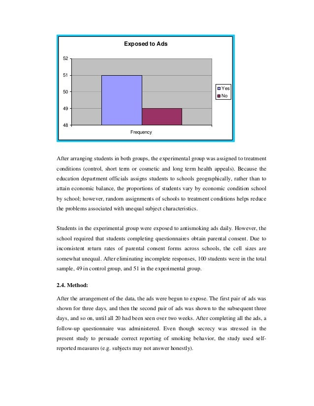 Dissertation about advertising