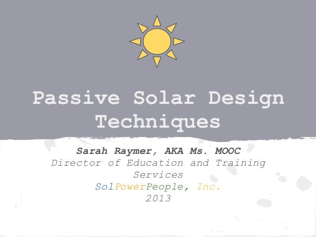 012413 passive solar design