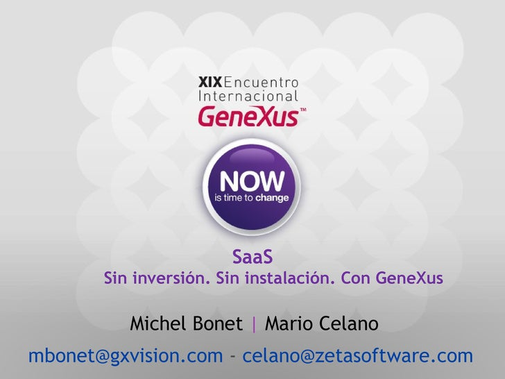 012 Saa S Sin InversióN Sin InstalacióN Con Gene Xus