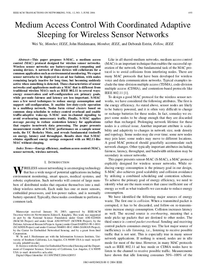 IEEE/ACM TRANSACTIONS ON NETWORKING, VOL. 12, NO. 3, JUNE 2004                                                            ...