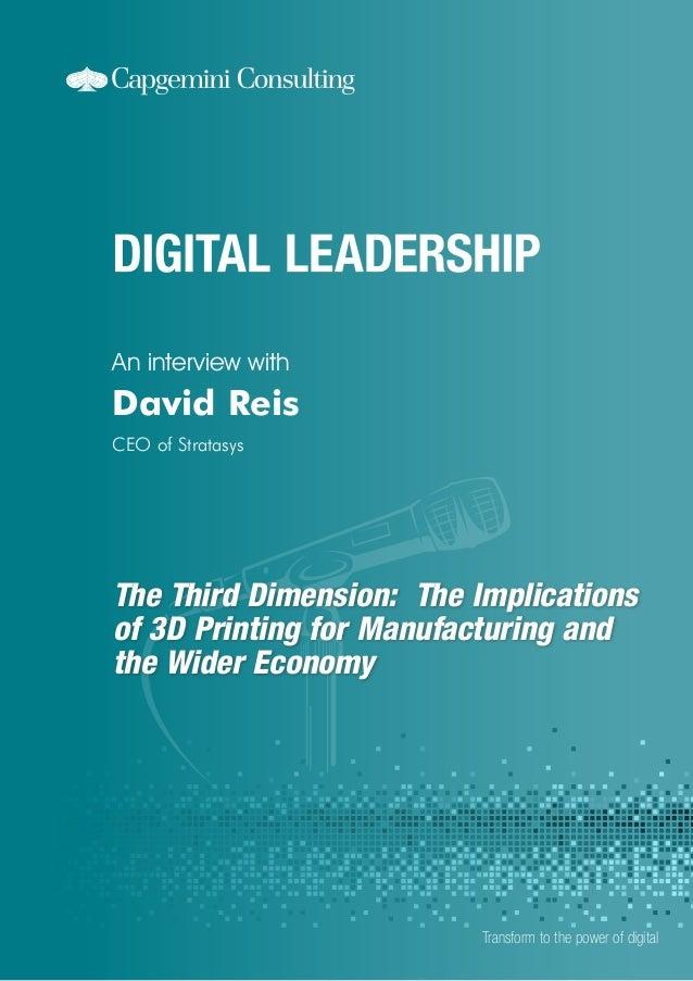 Digital Leadership: The Third Dimension