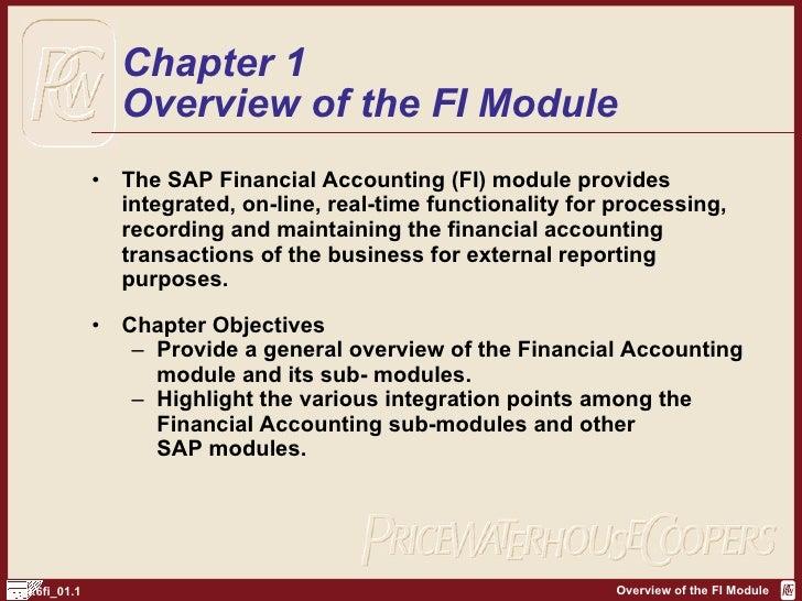 SAP FI Overview | http://sapdocs.info