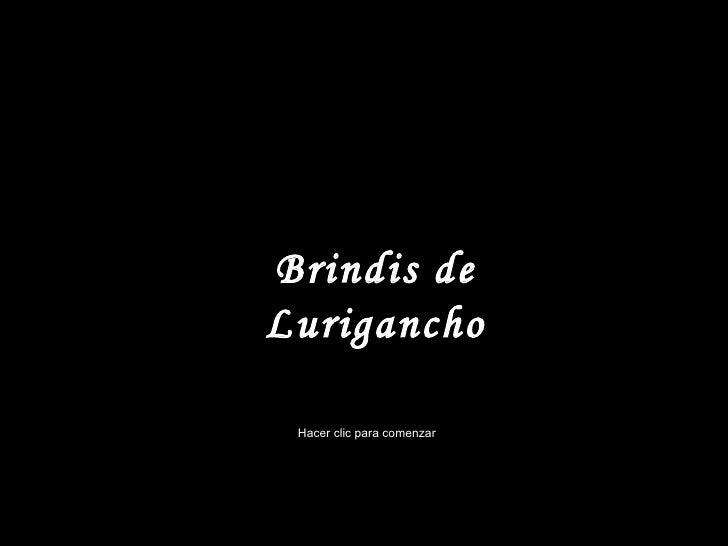 Brindis de Lurigancho