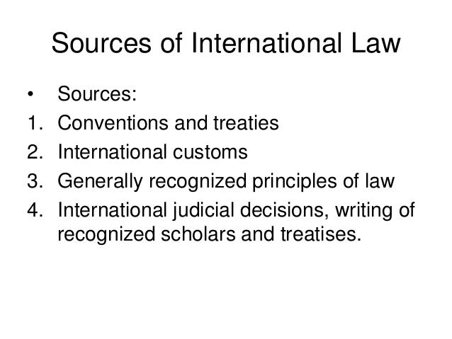 The role of the law in the hierarchy of norms.?