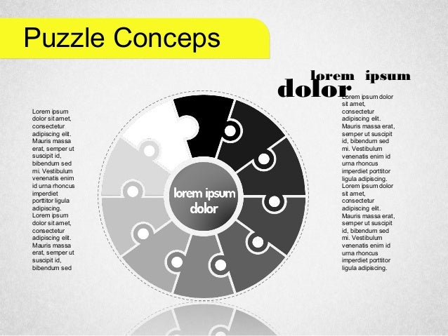 Staged Puzzle Concepts