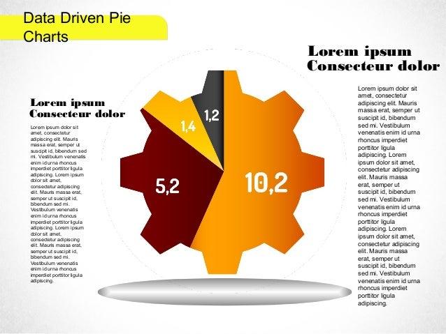 Data Driven Pie Charts Lorem ipsum Consecteur dolor Lorem ipsum dolor sit amet, consectetur adipiscing elit. Mauris massa ...