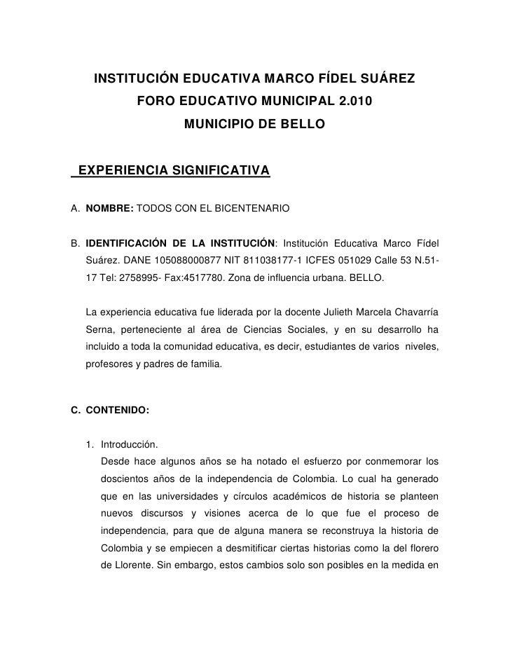 017 foro educativo municipal
