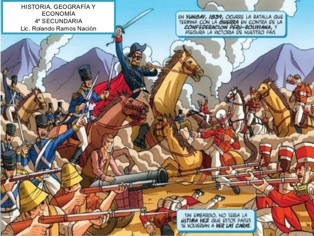 HISTORIA, GEOGRAFÍA Y ECONOMÍA 4º SECUNDARIA Lic. Rolando Ramos Nación