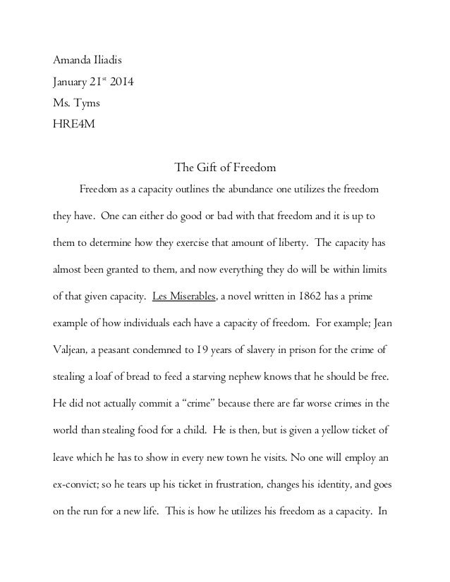 Self Assurance Definition Essay On Freedom - image 5