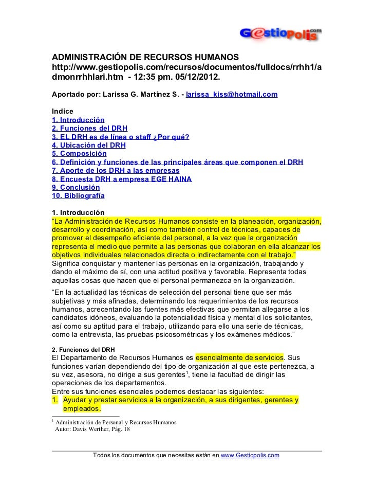 01 administracion de recursos humanos